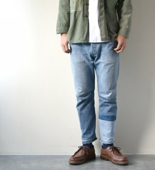 【yoused】ユーズド 4 pieces Patchwork Slim