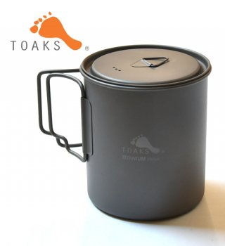 【TOAKS】 トークス Titanium Pot 750ml
