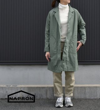 【NAPRON】 ナプロン Winter Atelie Work Coat