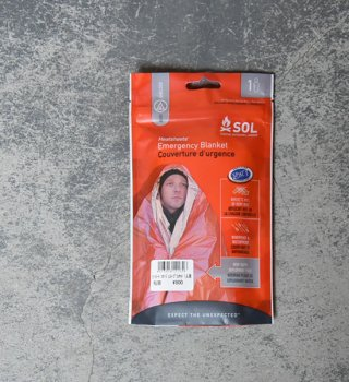 【SOL】 エスオーエル Heatsheets Emergency Blanket