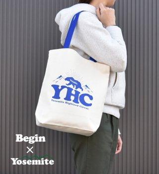 "【Begin創刊30周年×Yosemite別注】ビギン×ヨセミテ ToteBag ""Off White"