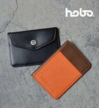 【hobo】 ホーボー Cow Leather Card Case
