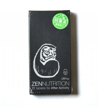 【ZEN NUTRITION】 ゼンニュートリション After Activity ダルマ 72粒