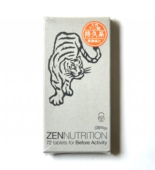 【ZEN NUTRITION】 ゼンニュートリション Before Activity トラ 72粒