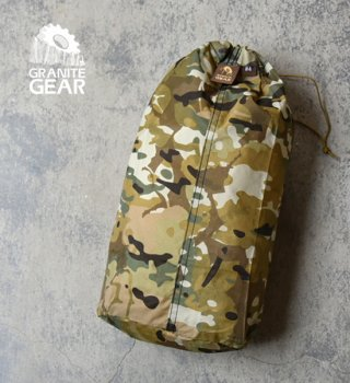 "【GRANITE GEAR】グラナイトギア Tactical Tough Sack 7L ""Camo""  ※メール便可"