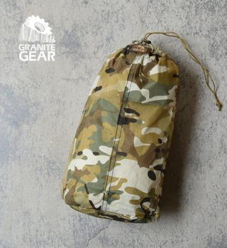 "【GRANITE GEAR】グラナイトギア Tactical Tough Sack 5L ""Camo""  ※メール便可"