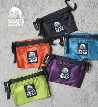 "【GRANITE GEAR】 グラナイトギア Trail Wallet S ""5Color"" ※メール便可"