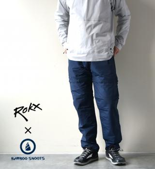 【ROKX×BAMBOO SHOOTS】ロックス×バンブーシュート Convertible Pants