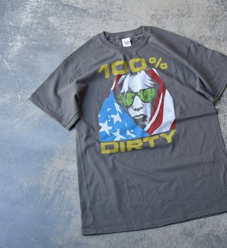 <img class='new_mark_img1' src='//img.shop-pro.jp/img/new/icons13.gif' style='border:none;display:inline;margin:0px;padding:0px;width:auto;' />【Band Tee】Sonic Youth ゛100% Dirty゛※メール便可