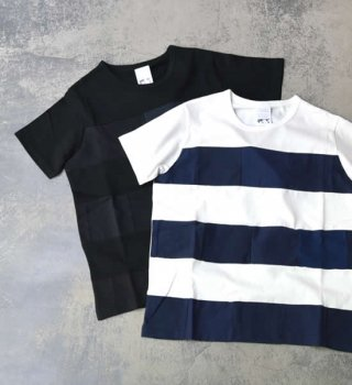 【yoused】ユーズド unisex Standard Patchwork Tee