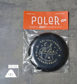 【POLER】 ポーラー Enlightement Frisbee 2.0