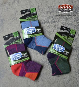 【DARN TOUGH VERMONT】ダーンタフバーモント women's Hiker 1/4 Sock Cushion