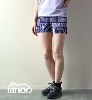 【ranor】ラナー unisex Bandana Very Short Pants