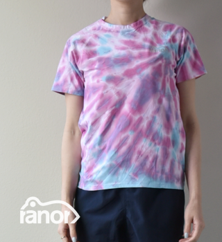 【ranor】ラナー unisex Radiation Tie Dyeing T-Shirts