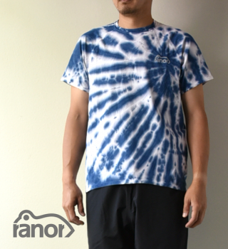 【ranor】ラナー unisex Radiation Tie Dyeing T-Shirt