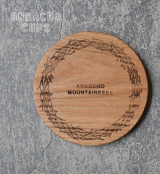 【Anarcho Cups】アナルコカップ Wood Lid (for Cup & Mug)