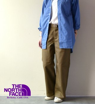 "【THE NORTH FACE PURPLE LABEL】ノースフェイスパープルレーベル women's Stretch Twill Wide Pants ""2color"