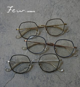 "【Few by NEWMAN】ヒューバイニューマン DENISE ""3Color"""