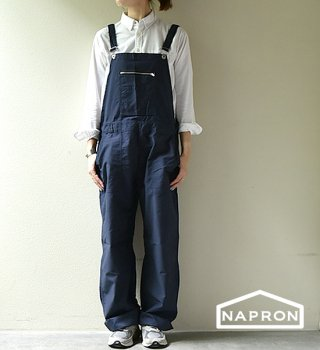 "【NAPRON】ナプロン German Work Overal ""2Color"