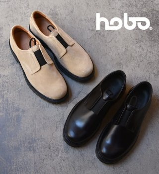 【hobo】ホーボー Cow Leather Postman Slip On
