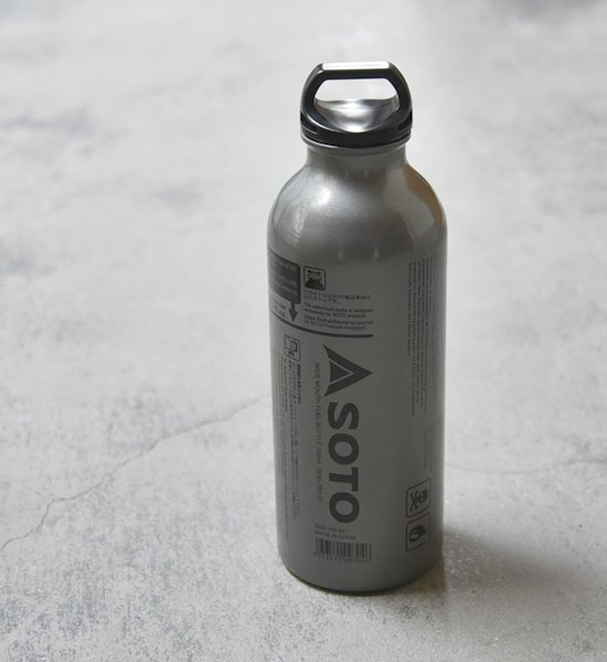 【SOTO】ソト Wide Mouth Fuel Bottole 700ml