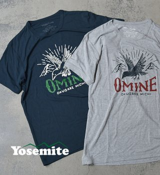 <img class='new_mark_img1' src='https://img.shop-pro.jp/img/new/icons13.gif' style='border:none;display:inline;margin:0px;padding:0px;width:auto;' />【Yosemite】unisex omine-T-Shirts