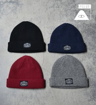 "【POLER】ポーラー Nightwatchh Beanie ""4color"" ※メール便可"