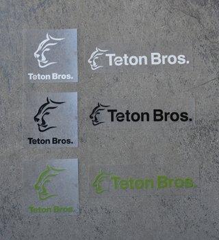 【Teton Bros】ティートンブロス TB Sticker ※メール便可