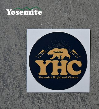 【Yosemite】YHC Original Sticker(Yosemite Highland Circus)
