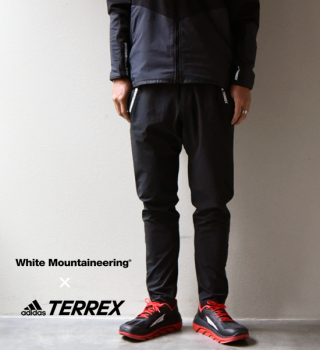 <img class='new_mark_img1' src='//img.shop-pro.jp/img/new/icons13.gif' style='border:none;display:inline;margin:0px;padding:0px;width:auto;' />【White Mountaineering×adidas TERREX】TR WM Slim Pants