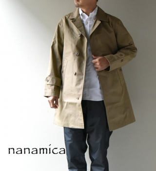 【nanamica】ナナミカ men's GORE-TEX® Soutien Collar Coat