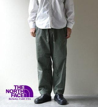 <img class='new_mark_img1' src='https://img.shop-pro.jp/img/new/icons13.gif' style='border:none;display:inline;margin:0px;padding:0px;width:auto;' />【THE NORTH FACE PURPLE LABEL】ノースフェイスパープルレーベル men's Ripstop Shirred Waist Pants