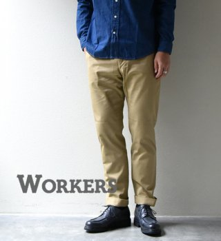 "<img class='new_mark_img1' src='https://img.shop-pro.jp/img/new/icons13.gif' style='border:none;display:inline;margin:0px;padding:0px;width:auto;' />【WORKERS】ワーカーズ Workers Officer Trousers, Slim-Fit,Class1 ""Chino"""