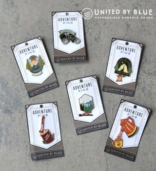 【UNITED BY BLUE】ユナイテッド バイ ブルー Enamel Pins ※メール便可
