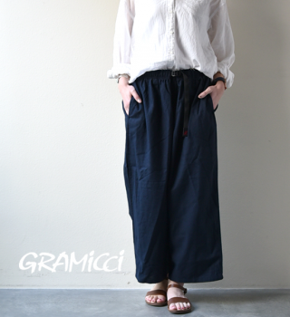 "【GRAMICCI】グラミチ women's Linen Cotton Balloon Pants ""3Color"""