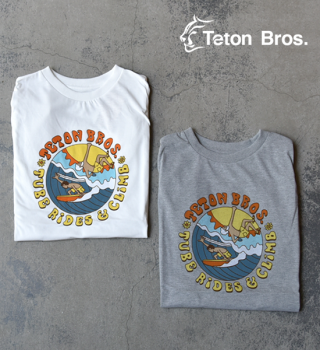 【Teton Bros】ティートンブロス women's TB Surf and Climb Tee