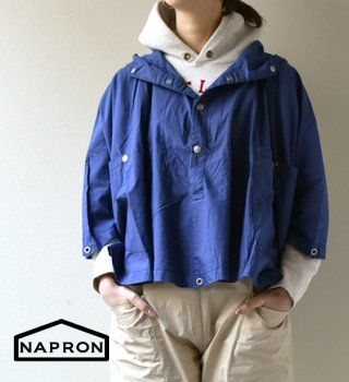 "【NAPRON】ナプロン unisex Military Poncho ""2Color"