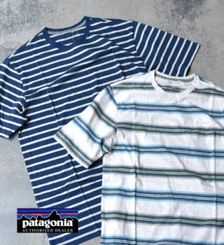 【patagonia】パタゴニア men's Squeaky Clean Poket Tee