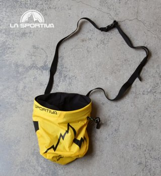 "【LA SPORTIVA】ラ・スポルティバ Laspo Chalk Bag ""Yellow"""