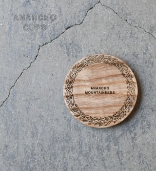 【Anarcho Cups】アナルコカップ Wood Lid (for Mini Mug)