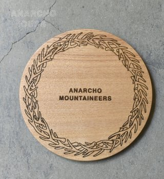 【Anarcho Cups】アナルコカップ Wood Lid (for Plate)
