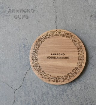 【Anarcho Cups】アナルコカップ Wood Lid (for Cup & Mug)