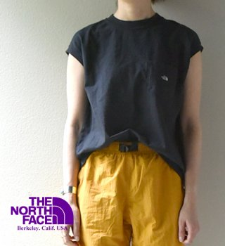 【THE NORTH FACE PURPLE LABEL】ノースフェイスパープルレーベル women's 7oz N/S Pocket Tee