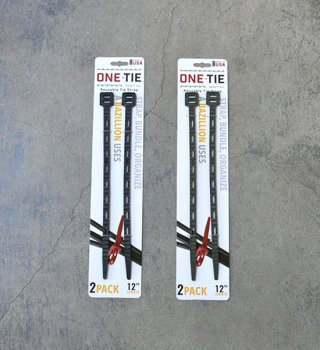 【ONE TIE】ワンタイ ONE-Tie 12インチ(2本セット)