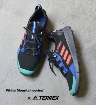 <img class='new_mark_img1' src='https://img.shop-pro.jp/img/new/icons13.gif' style='border:none;display:inline;margin:0px;padding:0px;width:auto;' />【White Mountaineering×adidas TERREX】White Mountaineering TERREX Agravic Speed +