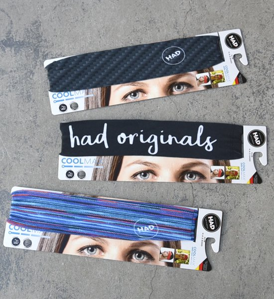 【H.A.D. Originals】H.A.D. Coolmax Slim HADband