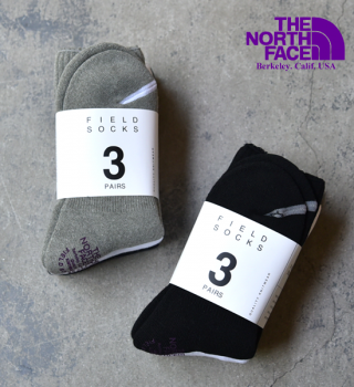 【THE NORTH FACE PURPLE LABEL】ノースフェイスパープルレーベル Field Socks 3P