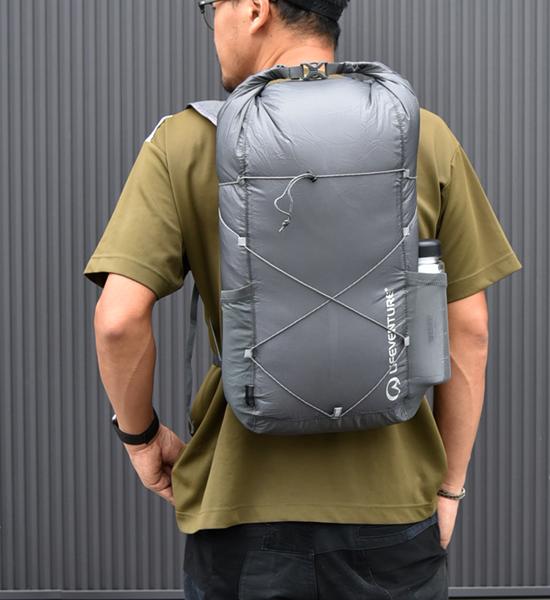 【LIFEVENTURE】ライフベンチャー Packable Waterproof Backpack