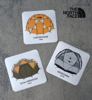 【THE NORTH FACE】ザノースフェイス Geodesic Dome Sticker