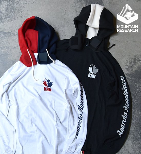 ★30%off【Mountain Research】マウンテンリサーチ A.M.Hoody L/S